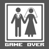 Shirtshop - Hochzeit Game Over