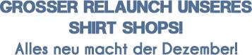 Shirtshop-Relaunch