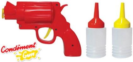 Pistole Senf Ketchup 1