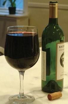 xl weinglas ich trinke eh nur ein glas. Black Bedroom Furniture Sets. Home Design Ideas