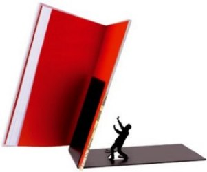Falling Bookend 2