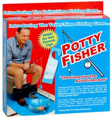 Potty fisher gadget