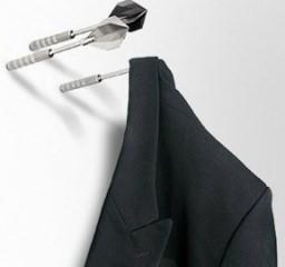 Dart Coat Hooks - Dartpfeile als Kleiderhaken