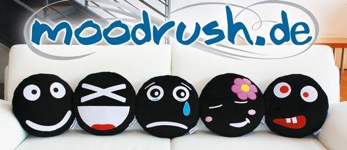Moodrush.de - Smiley Kissen für jede Stimmung
