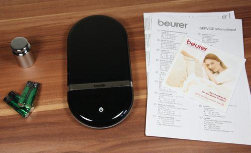 [Test] Beurer Design-Küchenwaage KS36