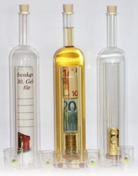 Flaschenpost - die originelle Geschenkverpackung