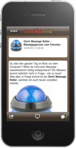 Ausgefallene Sachen iPhone & iPad App ab sofort verfügbar