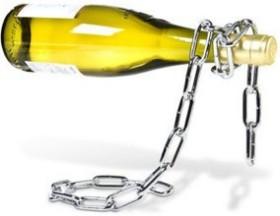 [Weihnachtstipp] Stahlkette als Weinflaschenhalter