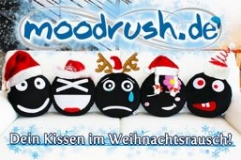 [Gewinnspiel] Moody Smiley Kissen zu Weihnachten