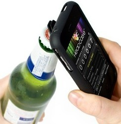Flaschenöffner-Hülle für durstige iPhone 4 Besitzer