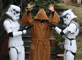 Jedi-Bademantel - Möge die Macht auch im Bad mit dir sein