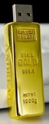 USB-Stick Goldbarren - Wer hat, der kann...