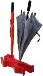 Außergewöhnlicher Schirmständer im Voodoo-Design