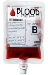 Blut als wahrer Energy Drink - Fit wie ein Vampir!