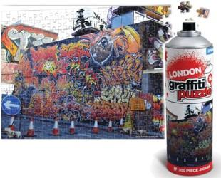 Coole Graffiti Puzzles aus der Spraydose