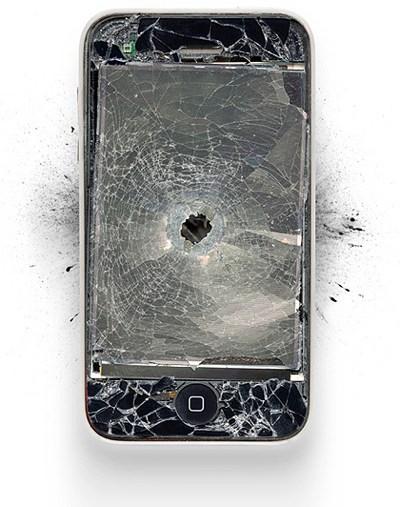 Nicht zu Hause nachmachen: iPhone & Co brutal zerstört