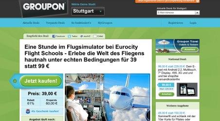 Groupon.de - Ein Tipp für Sparfüchse
