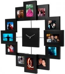 Die Bilderrahmen Uhr als einzigartiges Fotogeschenk