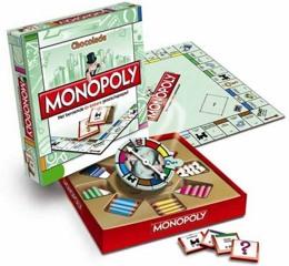 Monopoly aus Schokolade für einen leckeren Spieleabend