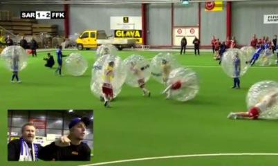 [Video] Fußball mal etwas anders gespielt