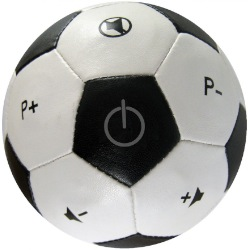 Ole Ole! Die Universal-Fernbedienung in Fußball-Form