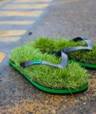lowest price d4487 09367 Sommer Must-Have] Gras Flip Flops – Schuhe wie Barfuß ...
