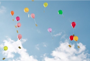 Luftballon-Weitflug für unvergessliche Hochzeitsfeste