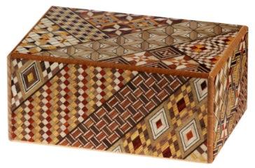 Himitsu Bako: Handgefertigte Puzzle-Box aus Japan