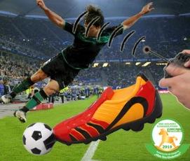 Kick It, der ferngesteuerte Fußballschuh: Fußball mal anders!