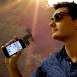 [Sommer-Gadget] Der Ventilator für iPhone & iPod Touch