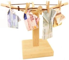 Die Geld-Wäschespinne als originelles Geldgeschenk
