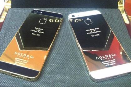 24-Karat Gold iPhone 5 für 4.700 Dollar