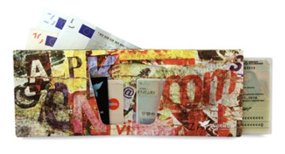 Artyvects Wallet - Ein Portemonnaie aus Papier