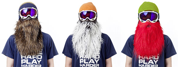 [Ski-Gadget] BeardSki - Praktische Skimaske mit richtig Style!