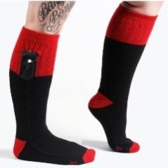 Beheizbare Wärmesocken für wohlig warme Füße