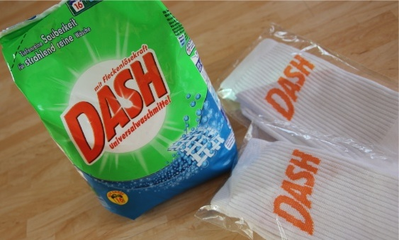 [Gewinnspiel] Dash Weiße Socken Party´s im ganzen Land