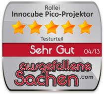 Rollei-Innocube_Testsiegel