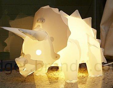 dinosaurier lampe zum selber zusammenbauen. Black Bedroom Furniture Sets. Home Design Ideas