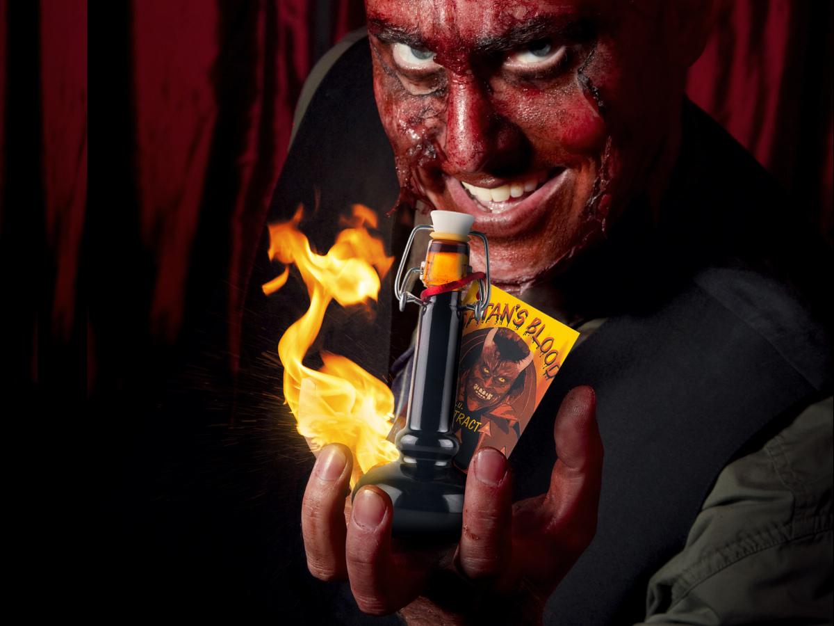 Satans Blood, die teuflisch scharfe Sauce