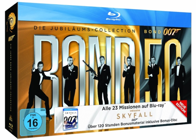Die ultimative James Bond Collection