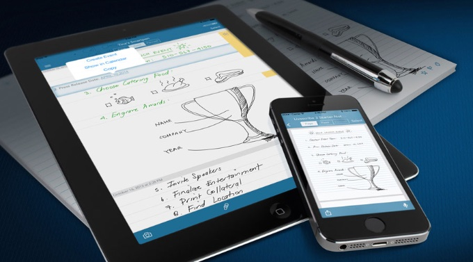 Ein smarter Stift digitalisiert Notizen