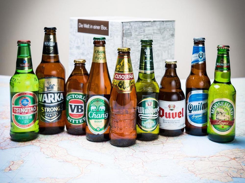 Eine Bier Weltreise verschenken