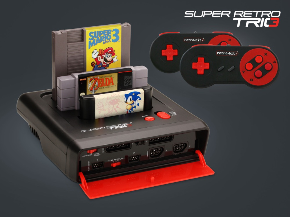 Die Must-Have Retro 3-in-1 Spielekonsole