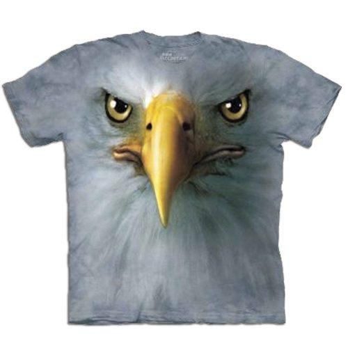 Big Face 3D Tier T-Shirt Adler