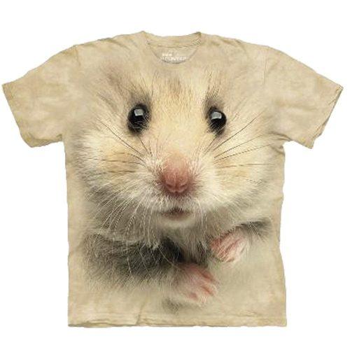 Big Face 3D Tier T-Shirt Hamster