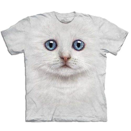 Big Face 3D Tier T-Shirt Katze