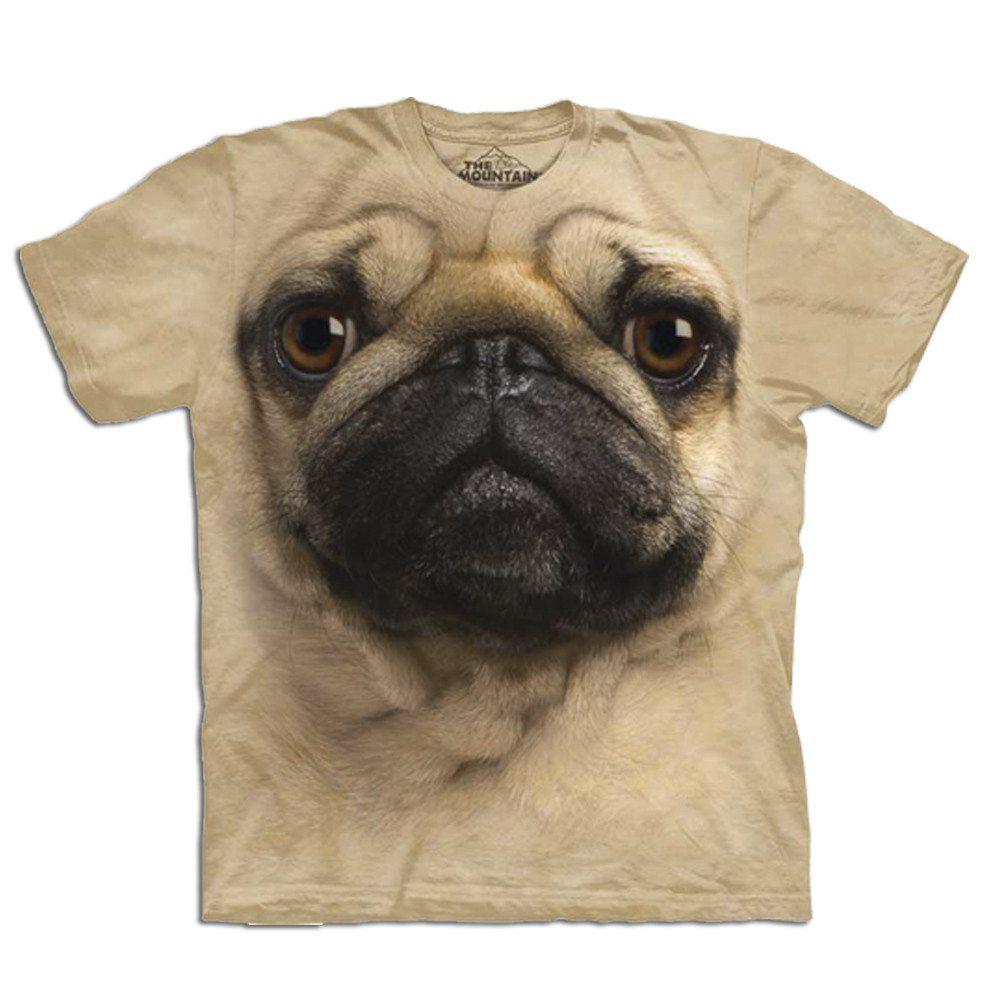 Einzigartige 3D T-Shirts mit Tiergesichtern