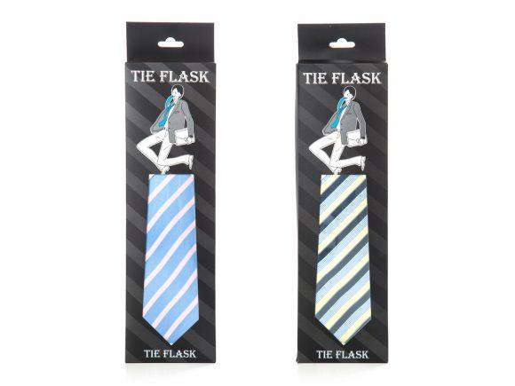 Flachmann Krawatte für Büro und Hochzeit